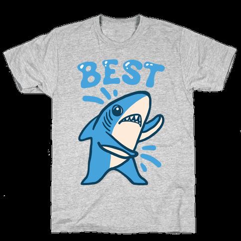 Best Friend Sharks (Part 1) Mens T-Shirt