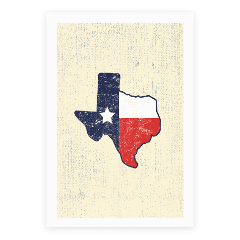 Texas Pride Poster