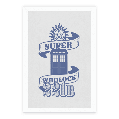 SuperWholock Icons Poster
