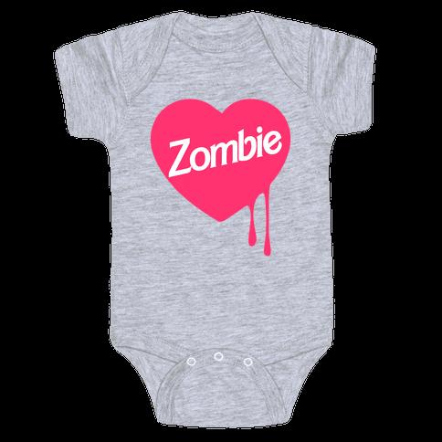 Zombie Doll Baby Onesy