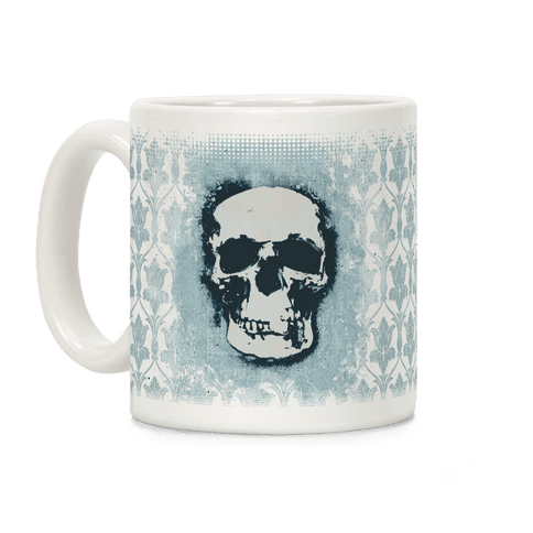 Sherlock Pop Skull Coffee Mug