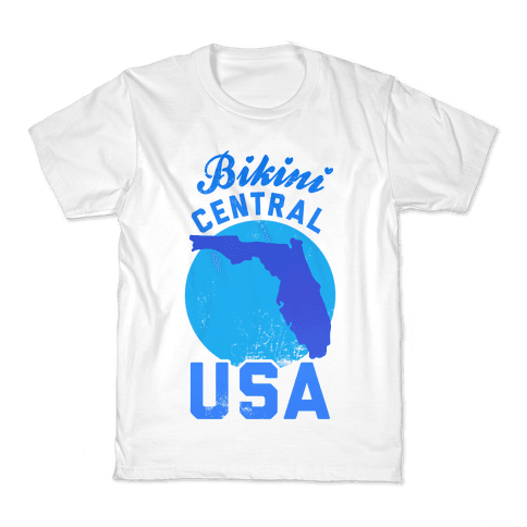 Bikini Central USA (Florida) Kids T-Shirt