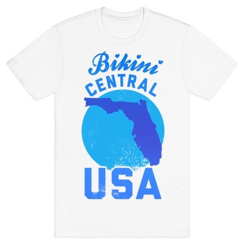 Bikini Central USA (Florida) T-Shirt