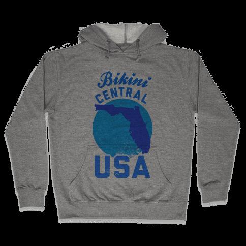 Bikini Central USA (Florida) Hooded Sweatshirt