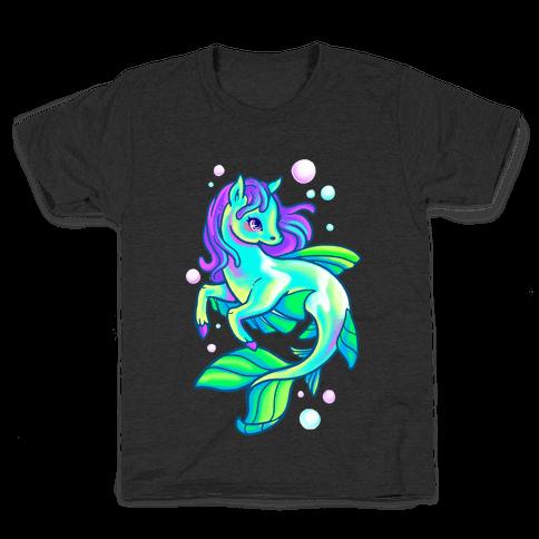 Neon Rainbow Kelpie Kids T-Shirt