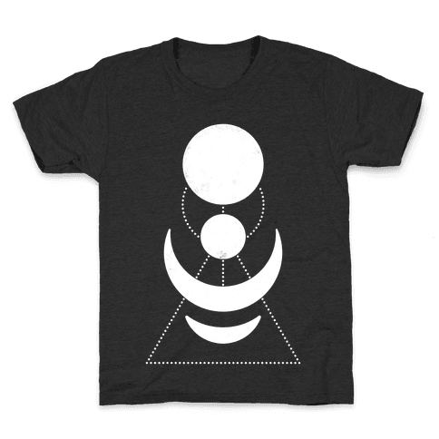 Celestial Shapes Kids T-Shirt