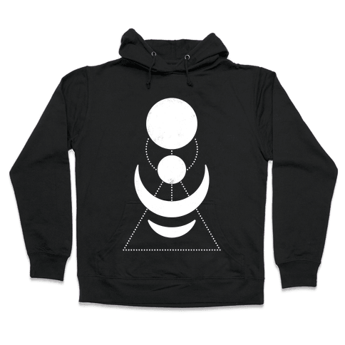 Celestial Shapes Hooded Sweatshirt