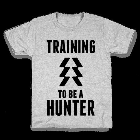 Training To Be A Hunter Kids T-Shirt