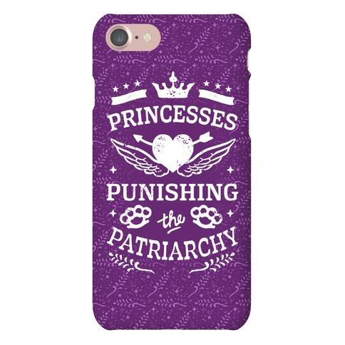 Princesses Punishing The Patriarchy Phone Case
