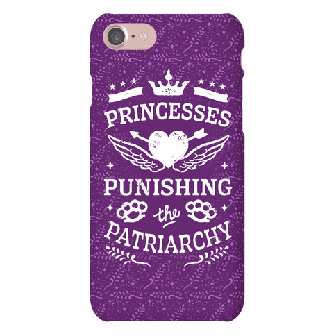 Princesses Punishing The Patriarchy Phone Case