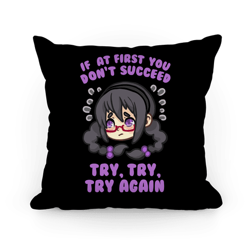 If At First You Don't Succeed Pillow Pillow