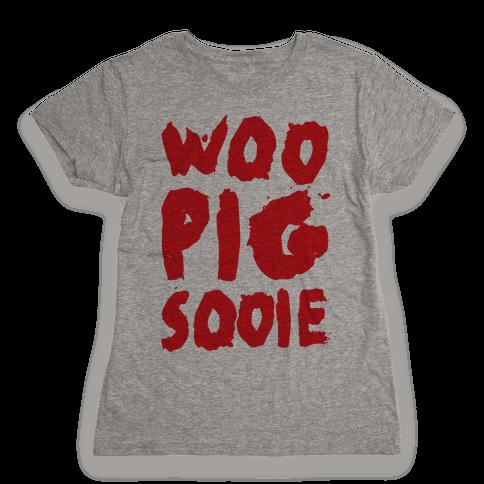 Woo Pig Sooie Womens T-Shirt