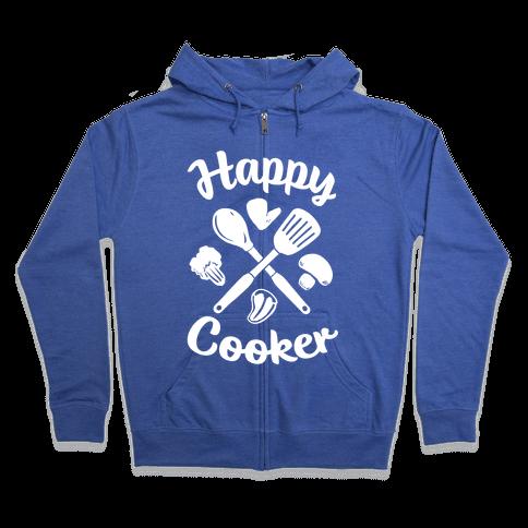 Happy Cooker Zip Hoodie