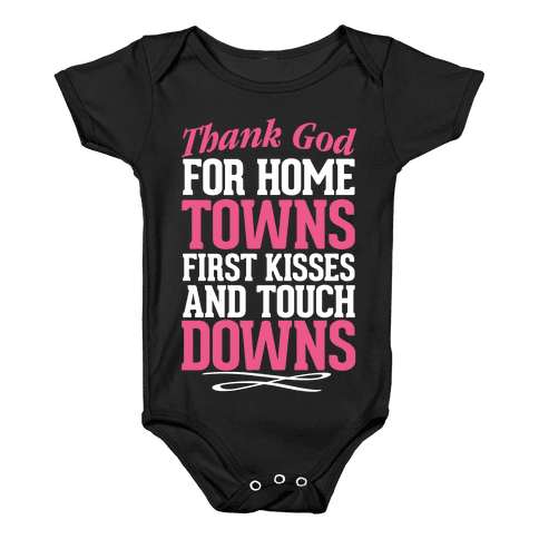 Thank God For Country Love Baby Onesy