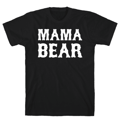 Mama Bear Mens T-Shirt