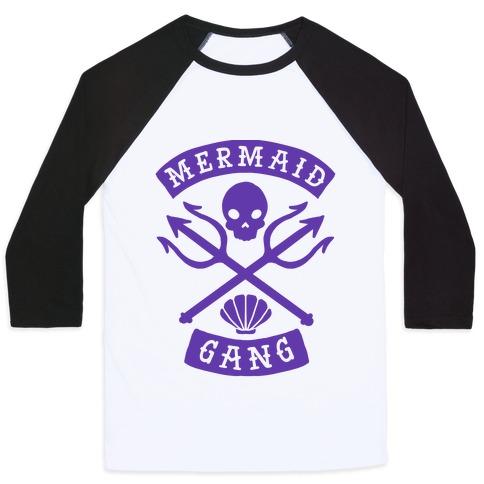 Mermaid Gang Baseball Tee