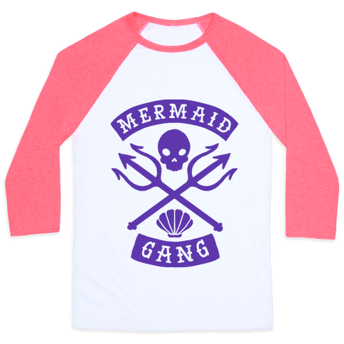 Mermaid Gang Baseball Tee
