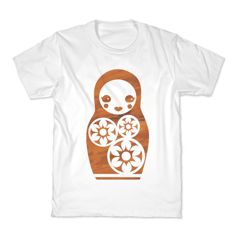 Matryoshka Nesting Doll Kids T-Shirt