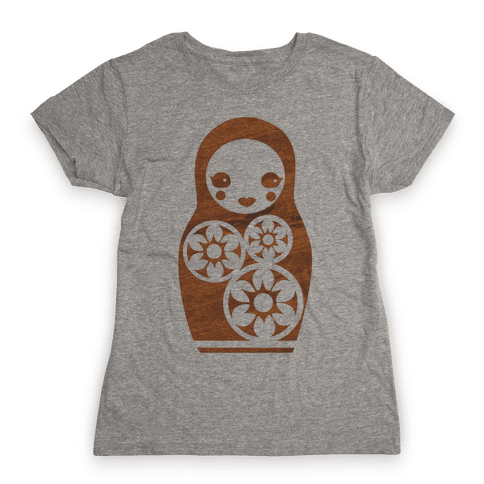 Matryoshka Nesting Doll Womens T Shirt