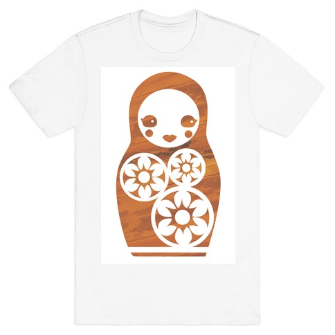 Matryoshka Nesting Doll Mens T-Shirt