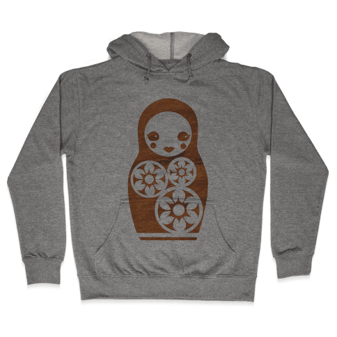 Matryoshka Nesting Doll Hooded Sweatshirt