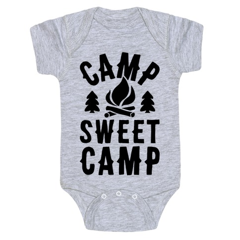 Camp Sweet Camp Baby Onesy