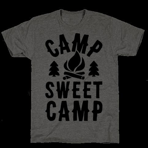 Camp Sweet Camp Mens T-Shirt