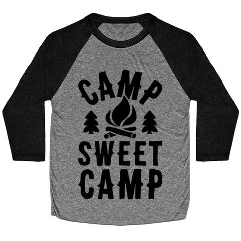 Camp Sweet Camp Baseball Tee
