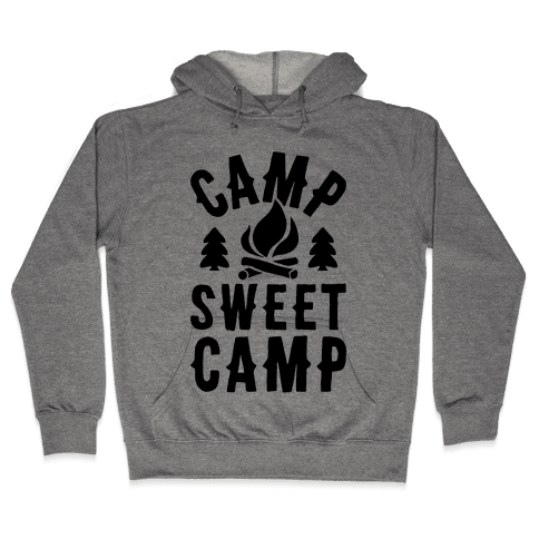 Camp Sweet Camp Hooded Sweatshirt