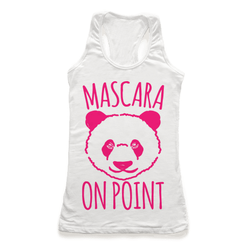 Mascara Skills On Point Racerback Tank Top