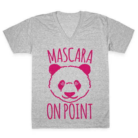 Mascara Skills On Point V-Neck Tee Shirt