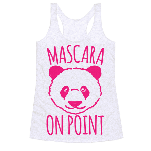Mascara Skills On Point Racerback Tank Top