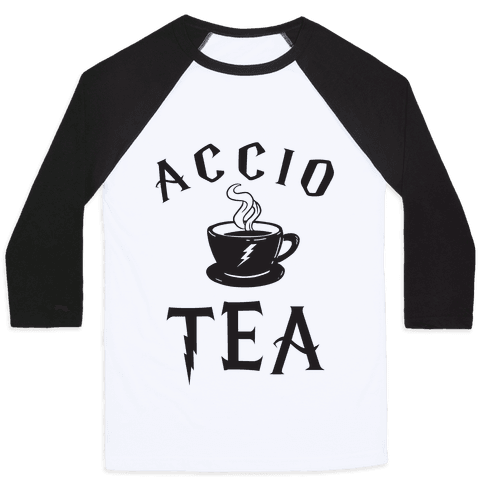 Accio Tea Baseball Tee