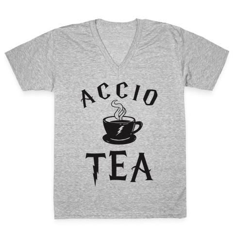 Accio Tea V-Neck Tee Shirt