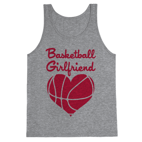 Basketball Girlfriend Tank Top