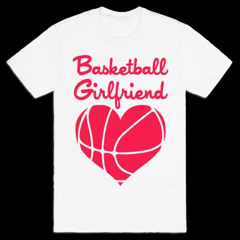 Basketball Girlfriend Mens T-Shirt