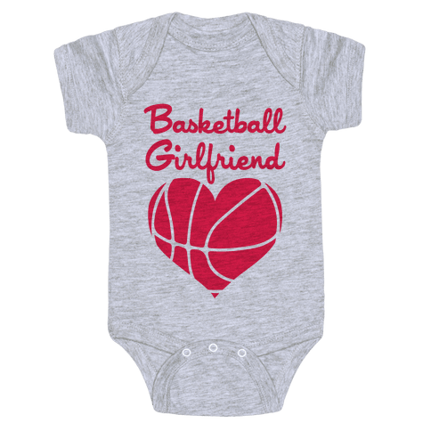Basketball Girlfriend Baby Onesy