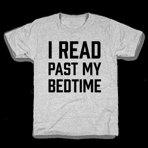 I Read Past My Bedtime Kids T-Shirt