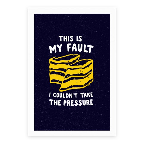 This Is My Fault Poster