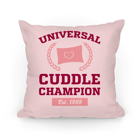 Universal Cuddle Champion Pillow