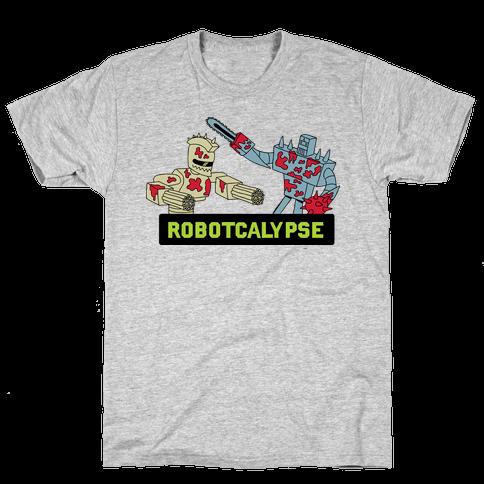 Robotcalypse Mens T-Shirt