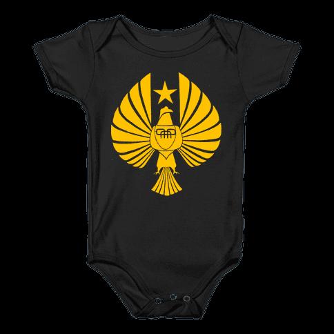 Pacific Rim Jaeger Logo Baby Onesy