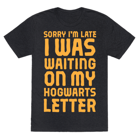 Sorry I'm Late, I Was Waiting On My Hogwarts Letter