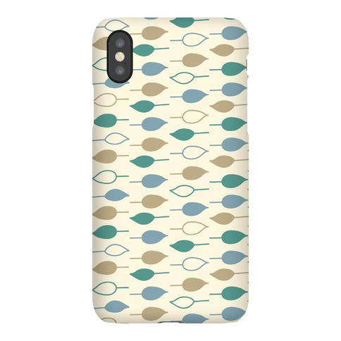 Leaf Pattern Case (Yellow) Phone Case