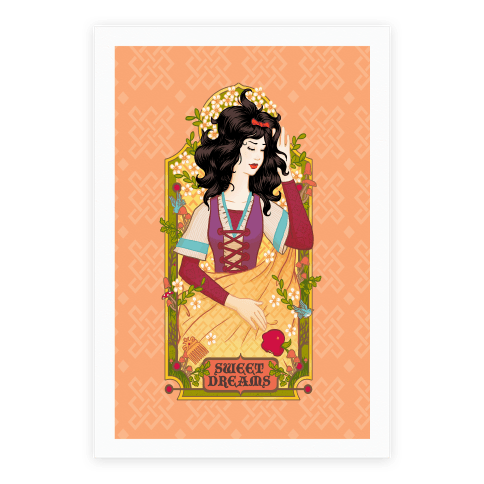 Sweet Dreams Snow White Poster