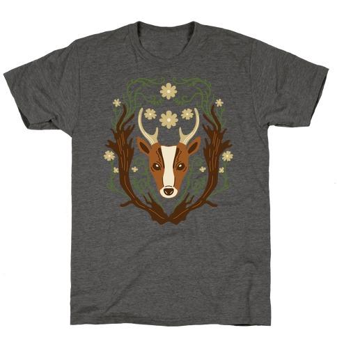 Floral Deer T-Shirt