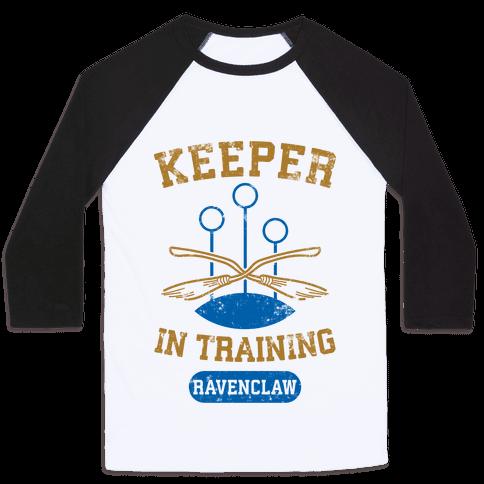 Keeper In Training (Ravenclaw) Baseball Tee