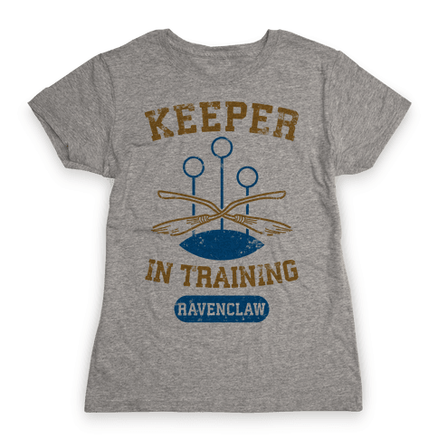 Keeper In Training (Ravenclaw) Womens T-Shirt