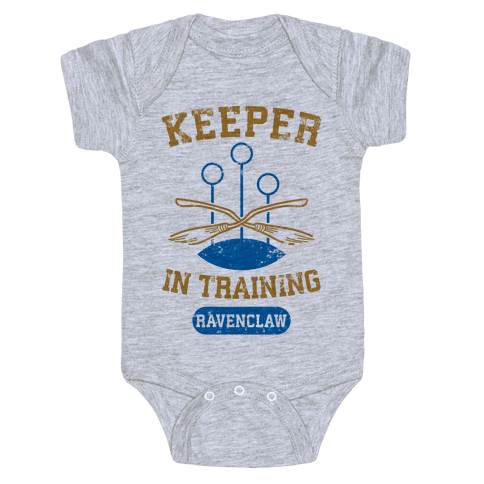 Keeper In Training (Ravenclaw) Baby Onesy