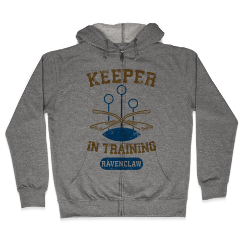 Keeper In Training (Ravenclaw) Zip Hoodie
